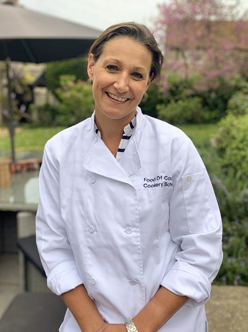 Lucinda Earl Teacher at Food of Course Cookery School in Somerset